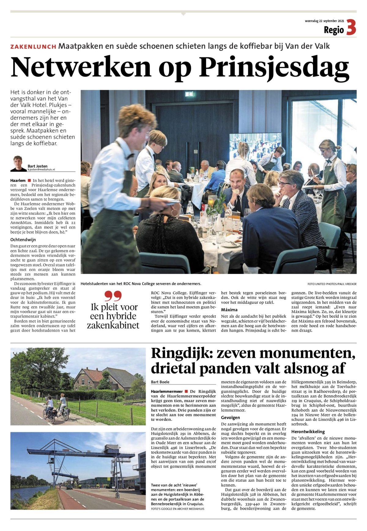 haarlemse-prinsjesdag-lunch-haarlems-dagblad-22-september-2021 copy